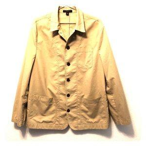 [BANANA REPUBLIC] Khaki paper light button up